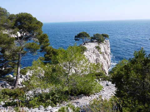 French walking tour in southern France